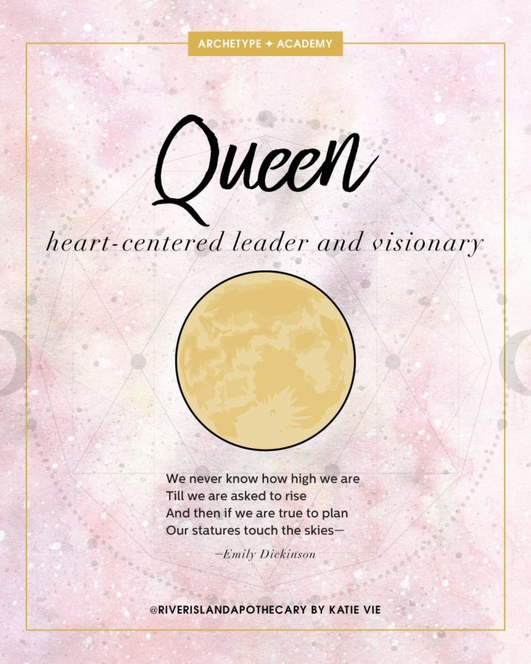 Queen quote card